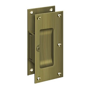Deltana SDP60 Decorative Passage Pocket Lock - Solid Brass