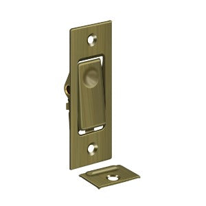 Deltana PDB42 Pocket Door Jamb Bolt - Solid Brass