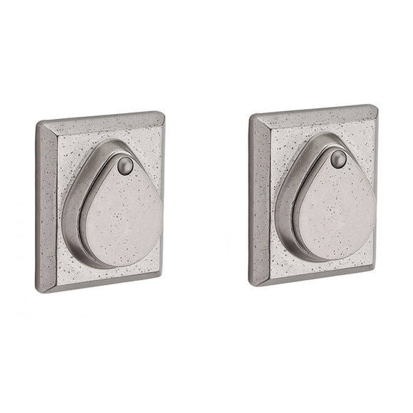 Baldwin Rustic Square Deadbolt - Double Cylinder