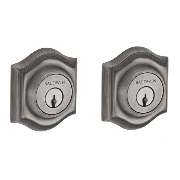 Baldwin Traditional Arch Deadbolt - Double Cylinder