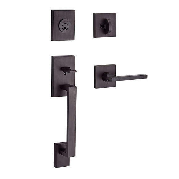 Baldwin La Jolla Entry Handleset - Single Cylinder
