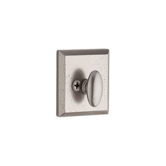 Baldwin Rustic Square Deadbolt - Patio