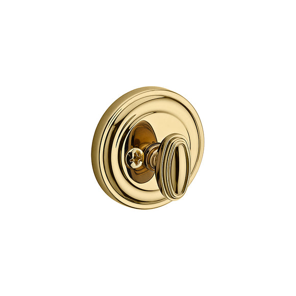 Baldwin Traditional Round Deadbolt - Patio