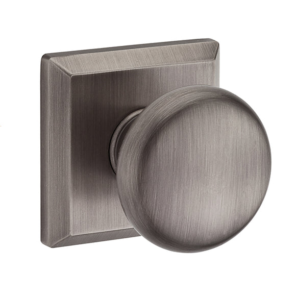 Baldwin Round Knob Set - Passage