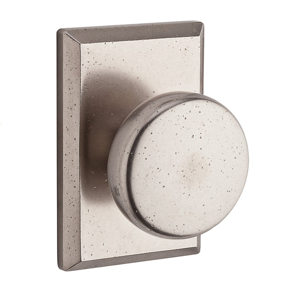 Baldwin Rustic Knob Set - Privacy
