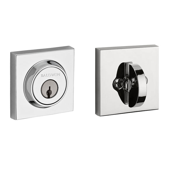 Baldwin Contemporary Square Deadbolt - Single Cylinder