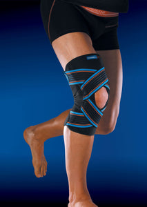 Thuasne Sport Open strapping Plus STAB 4 knee brace