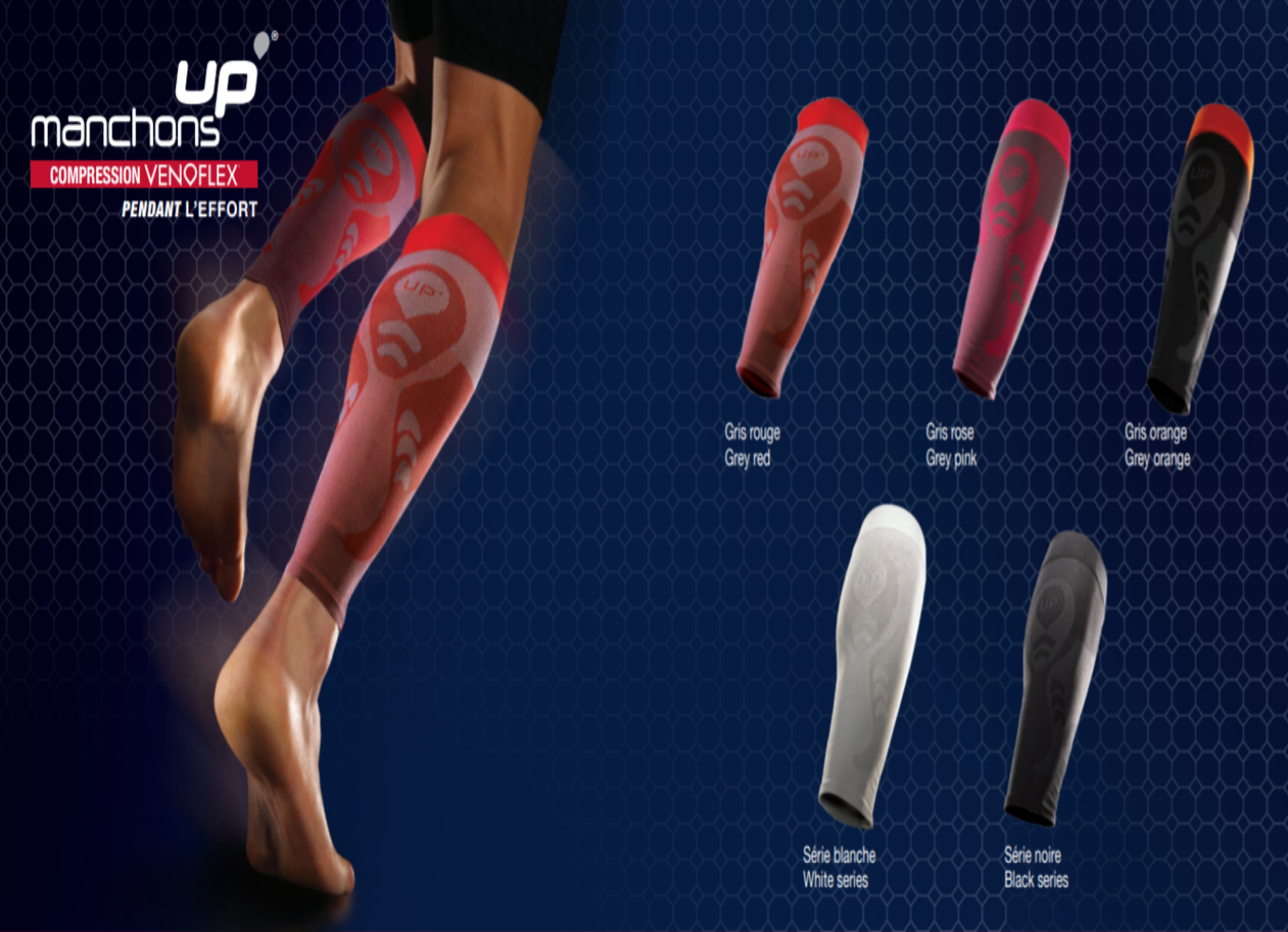 Thuasne Sport UP' Compression Calf Sleeves