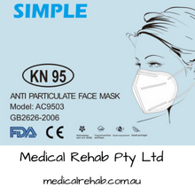 KN95 ANTI PARTICULATE FACE MASK TGA APPROVED