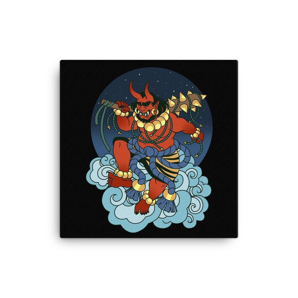 Yokai Collection - ONI Canvas Print - Occultcreations