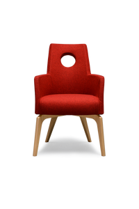 High Back Cina Chair With Grip Hole