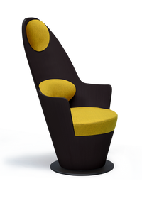 High Back Curved Kona Armchair