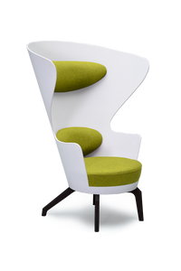 White High Back Kona Wingchair
