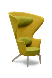 Yellow High Back Kona Wingchair