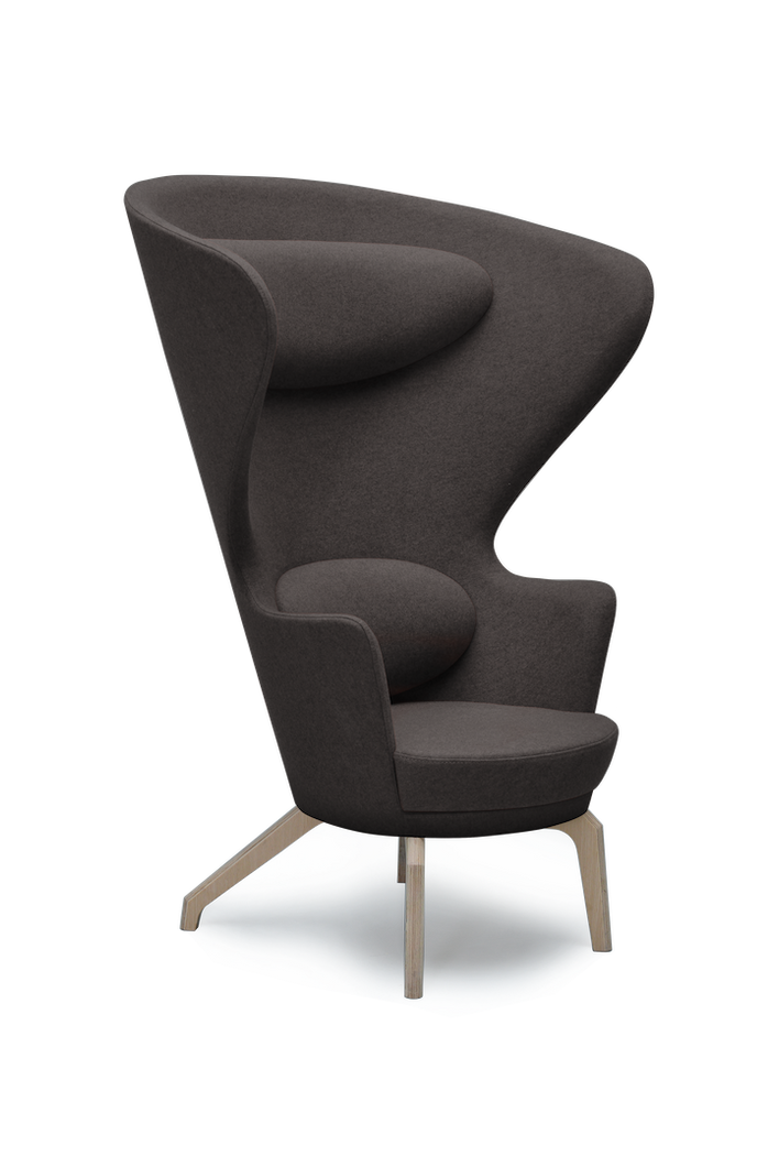 Anthracite High Back Kona Wingchair