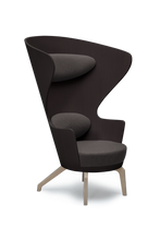 Walnut High Back Kona Wingchair