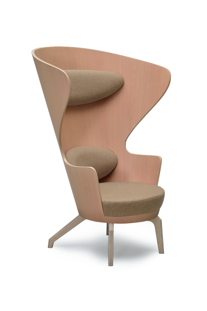Oak High Back Kona Wingchair