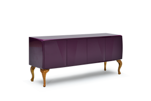 High Gloss Violet Lacquer 41 Pepe Cabinet