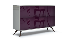 High Gloss Grey Lacquer 42 Pepe Cabinet