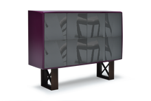 High Gloss Violet Lacquer 42 Pepe Cabinet