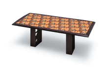 Pedi Table with Fossil Pattern