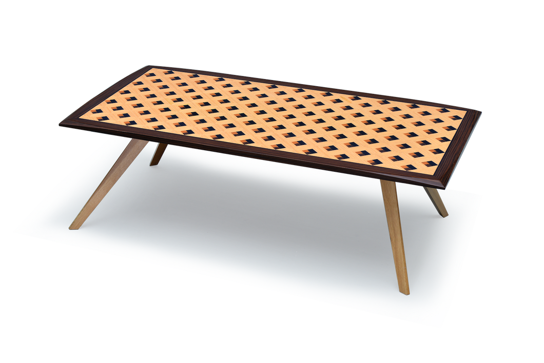 Pedi Table with Square Pattern