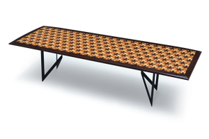 Pedi Table with Croc Pattern