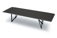 Pedi Table with High Gloss Anthracite Lacquer
