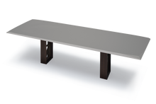Pedi Table with High Gloss Grey Lacquer