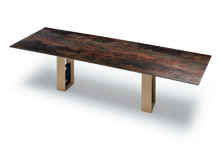 Slim Table Ceramic Tabletop with with Size and Leg Options