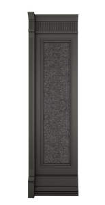 A-width Anthracite Lacquer Kosa Wall Panel
