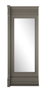 B-width Grey Lacquer Kosa Wall Panel