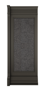 B-width Anthracite Lacquer Kosa Wall Panel