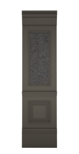 A-width A-type Grey Lacquer Zaga Wall Panel