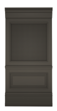 C-width A-type Grey Lacquer Zaga Wall Panel
