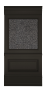 C-width A-type Anthracite Lacquer Zaga Wall Panel