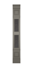 A-width A-type High Grey Lacquer Zaga Wall Panel