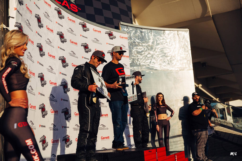 Feras Qartoumy takes the Limited class win at Super Lap Battle