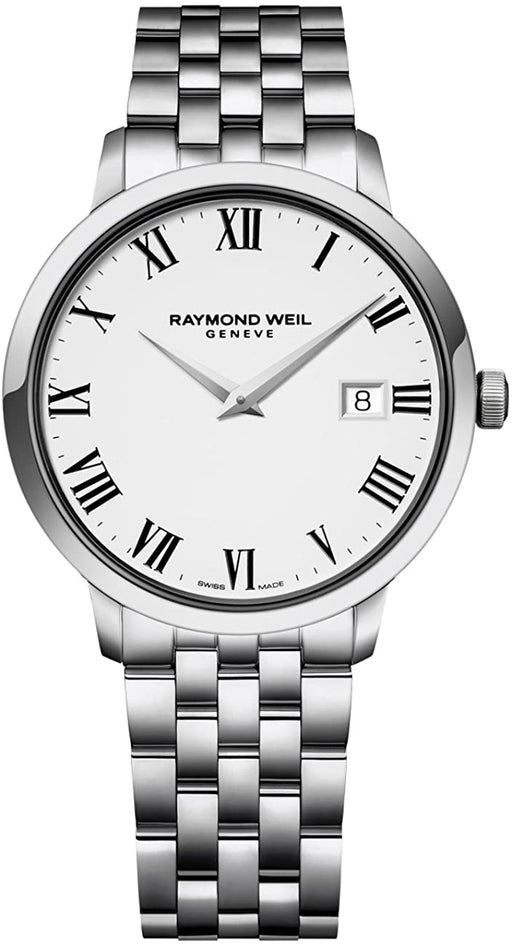 Raymond Weil Men's 5488-ST-00300 Toccata Analog Display Quartz Silver Watch