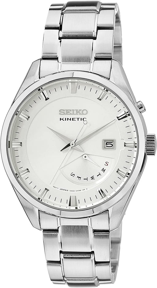 GENUINE SEIKO Watch CLASSIC Male KINETIC - srn043p1