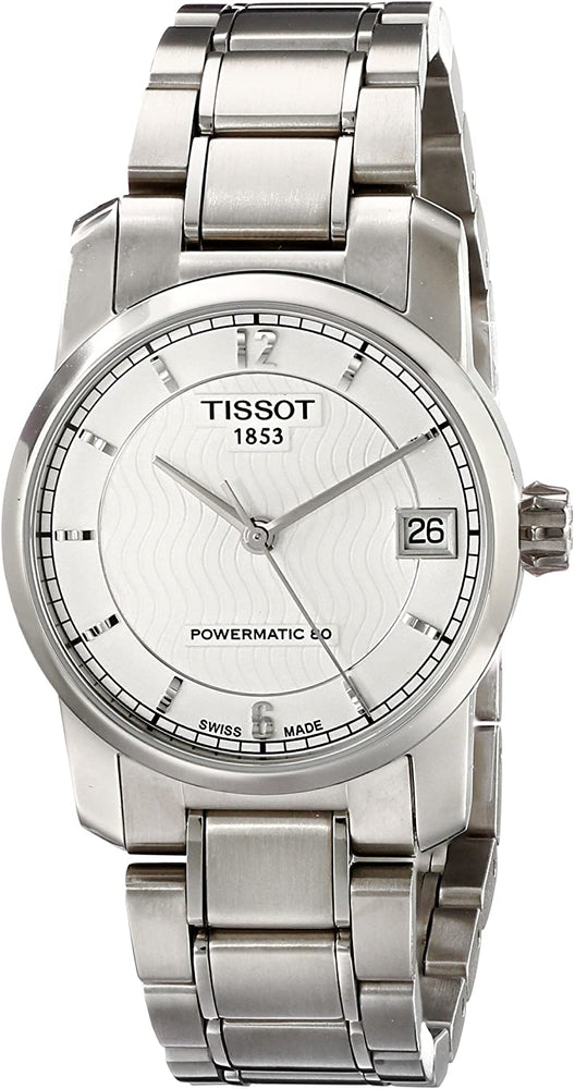 Tissot Women's T0872074403700 T-Classic Analog Display Swiss Automatic Silver Watch