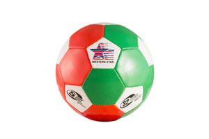 Western Star Official Multi-Color Panel Wholesale Soccer Balls Size 5 Assorted