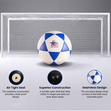 Load image into Gallery viewer, Western Star Seamless Performance Soccer Balls Size 5