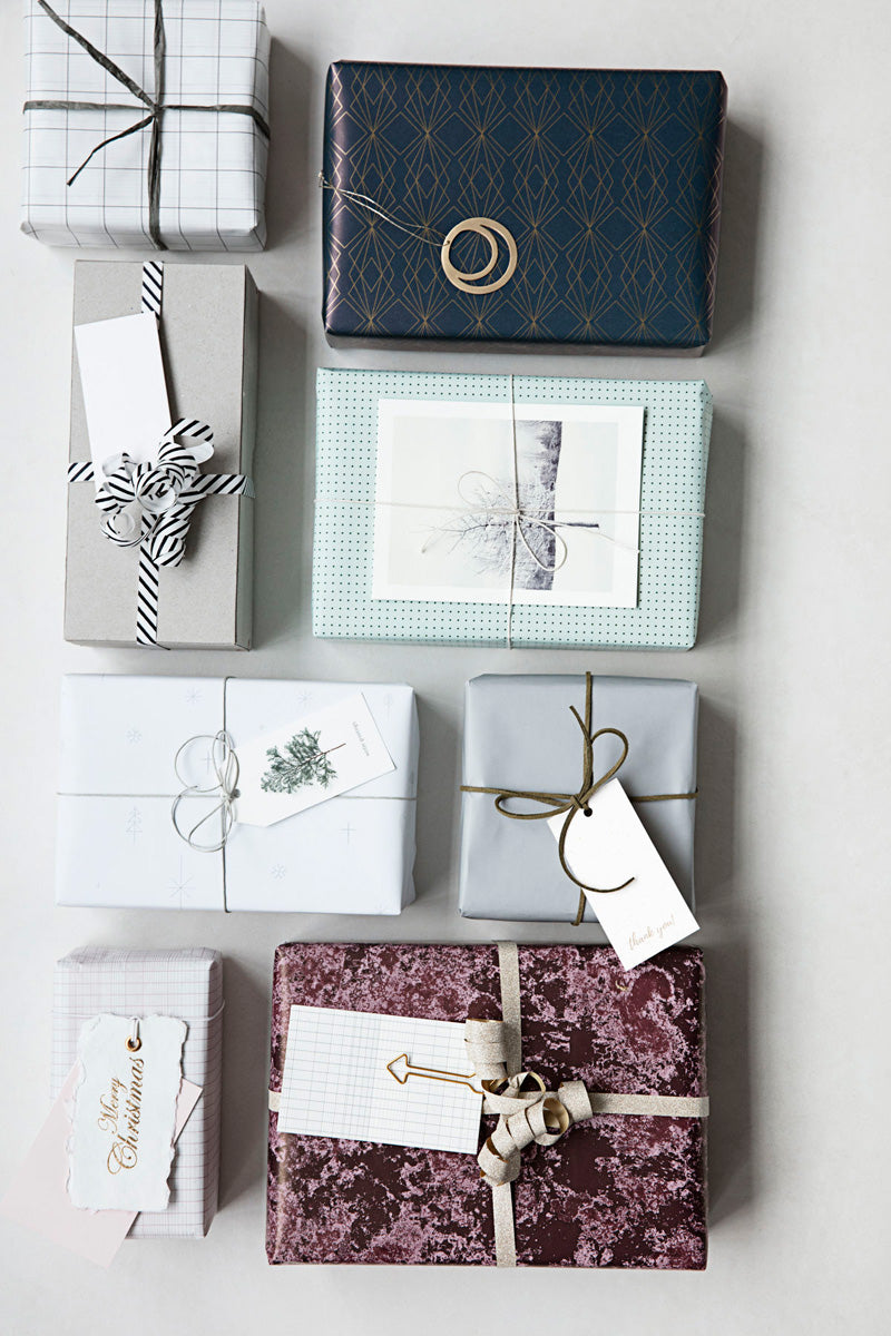 House Doctor gift wrap styled