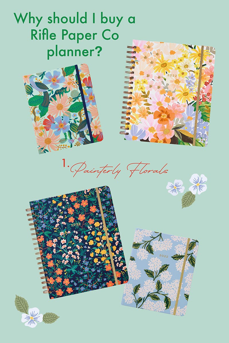why buy a Rifle Paper Co planner?