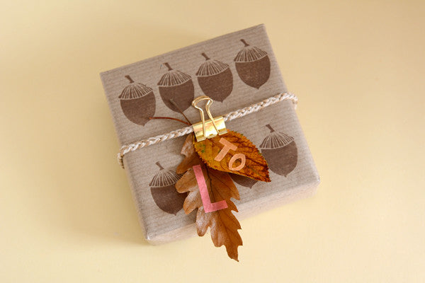 Autumn leaf stamp 3