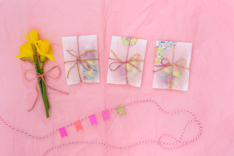 Easter gift wrapping
