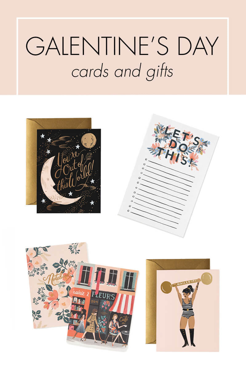 Galentine's Day cards and gifts