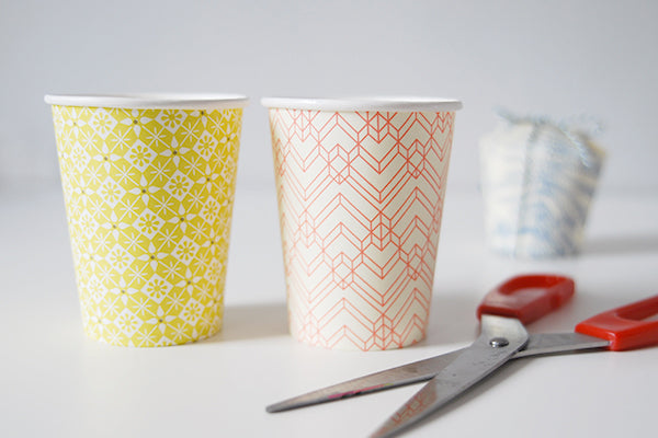How to make paper cup gift boxes