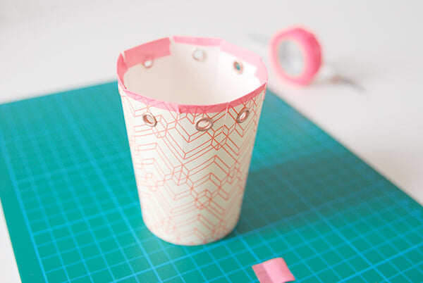 Paper cup gift boxes how to 4